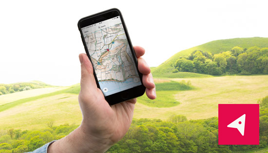 OS Maps app