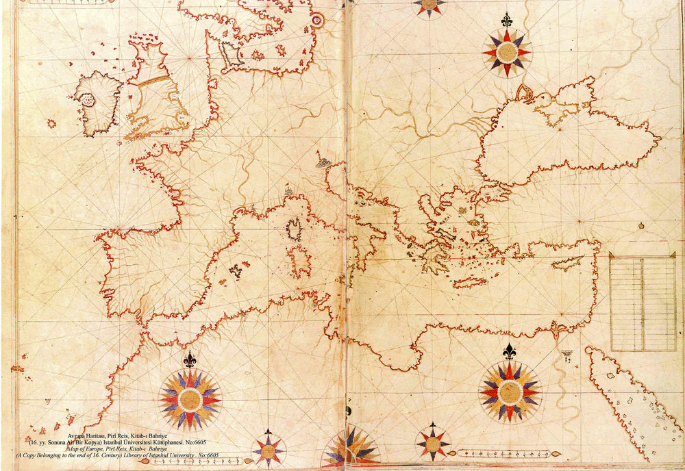 Hy-Breasal appeared on maps of Europe from the 14th century onwards.