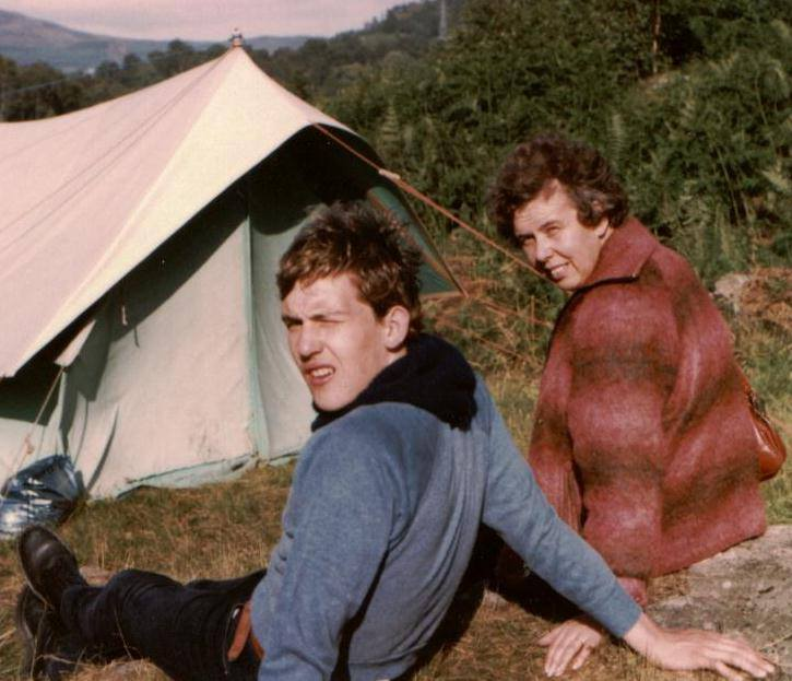 "David Kidd – ""Scout Camp at Loch Tummel in 1981."""