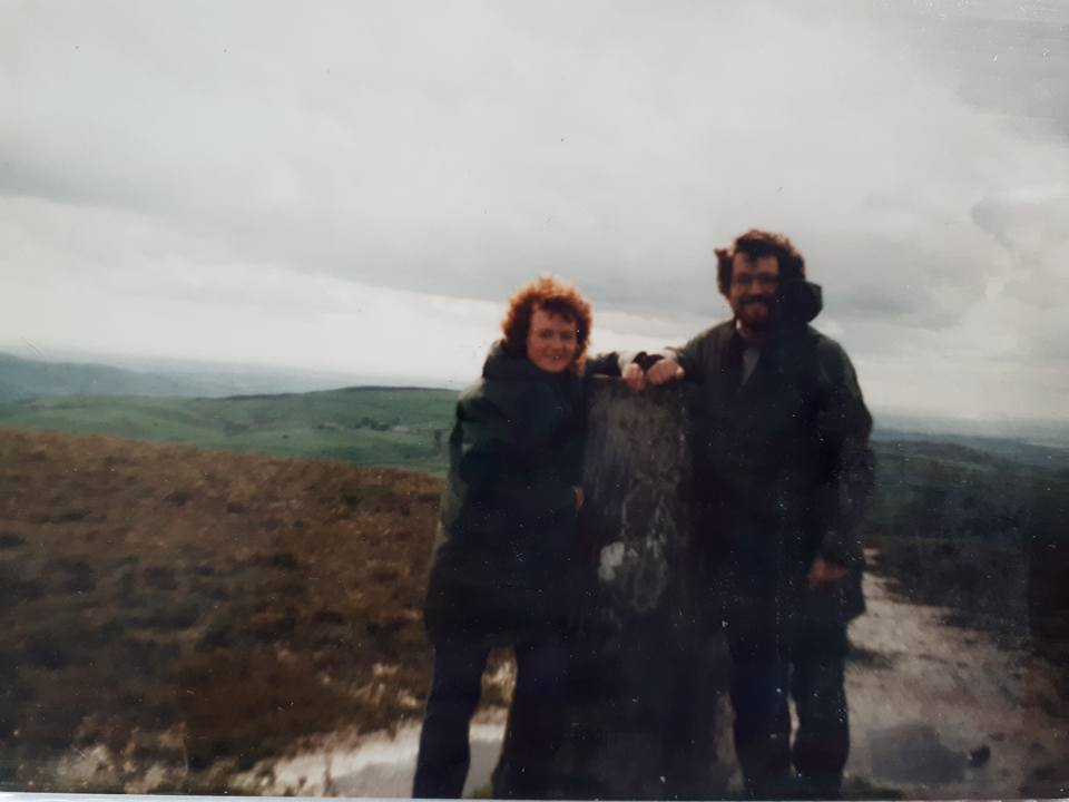 """Janice Moorcroft – """"Matthew and I way back in 1985 on our honeymoon! (Think it was on Helvellyn)"""""""