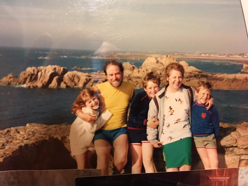 """Richard Inns – """"As a family we used to holiday a lot down in Cornwall and Devon when I was a kid - plenty of coastal walks were had!"""""""