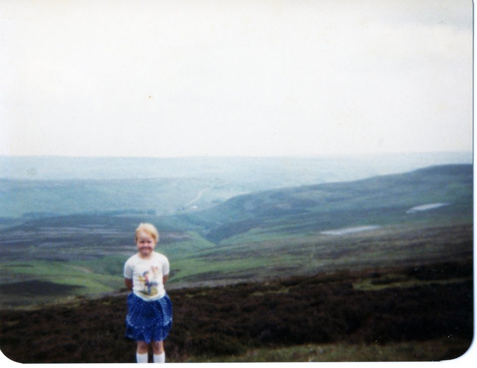 """Rachael Brennan – """"Think I was near Stanhope in Durham as we usually went to visit family in the holidays."""""""