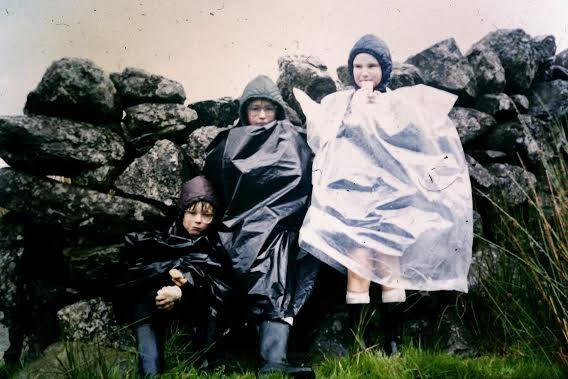 """Joanne Cumine – """"Kitted out to go up Snowdon mid 70s in binliners"""""""
