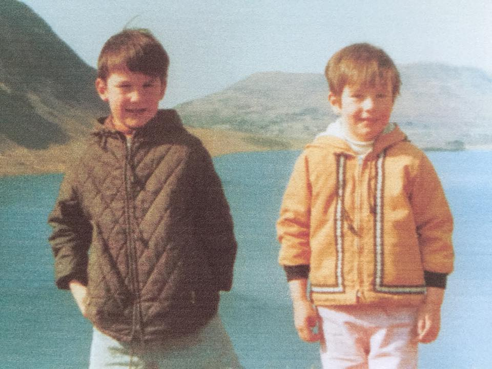 """Karen Brooking – """"In the Lake District with my brother in the late 1960s"""""""