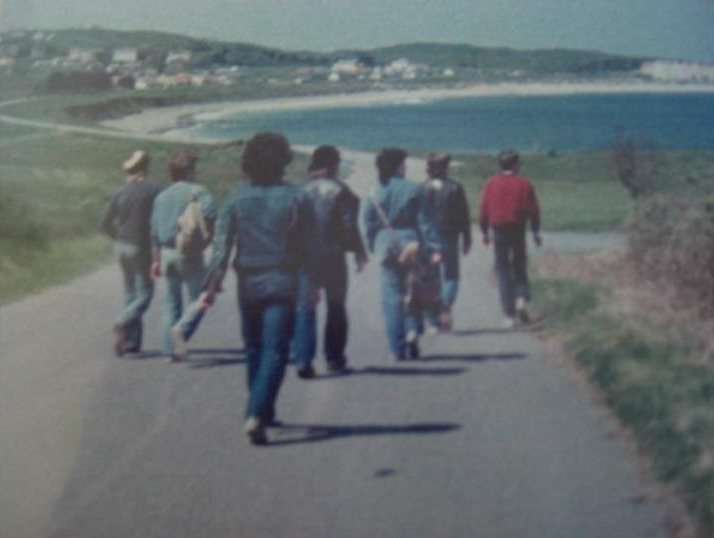 """Kim Russell - """"Hiking and camping on Alderney in Channel Islands with some friends 1980."""""""
