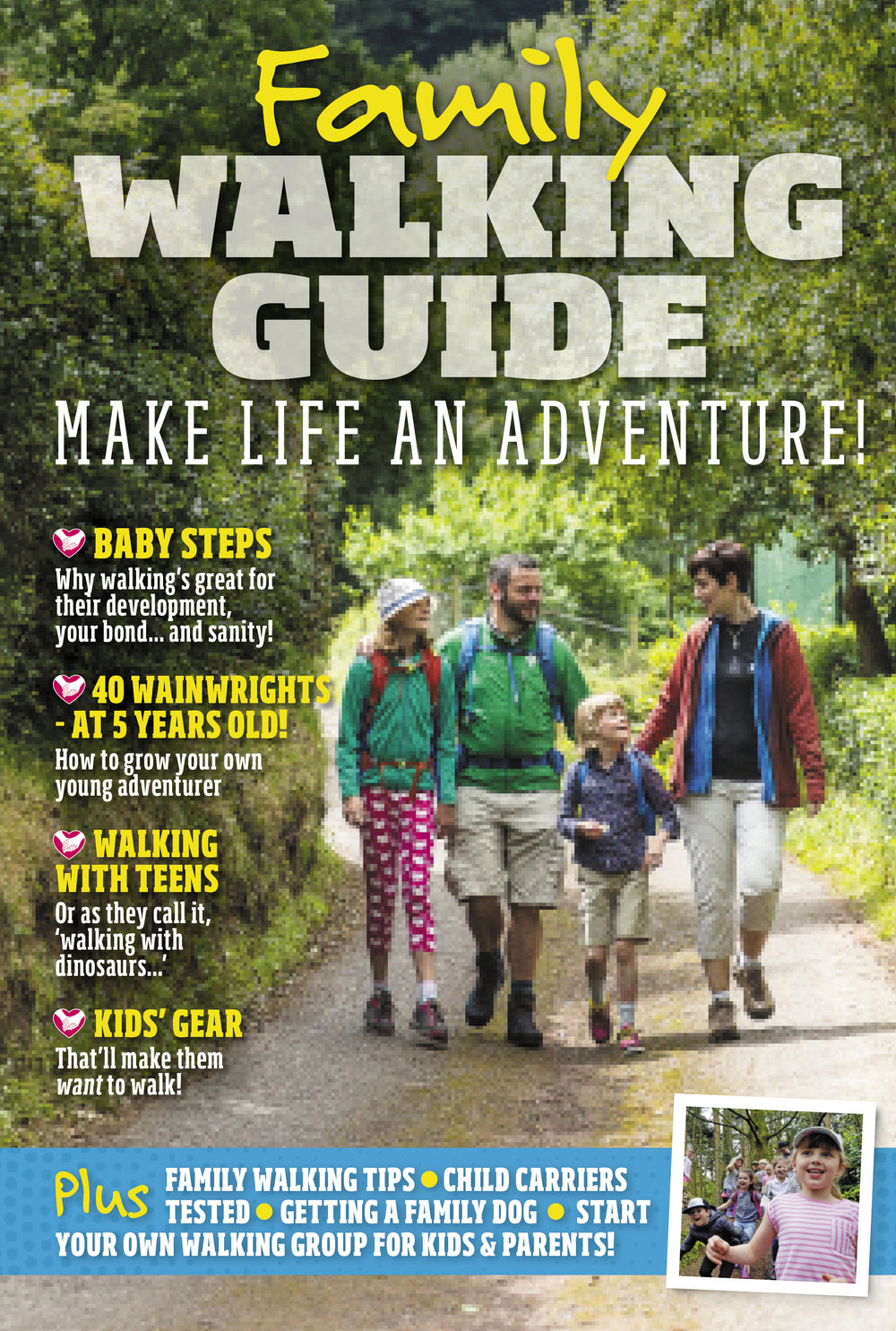 Free supplement with the August issue of Country Walking.