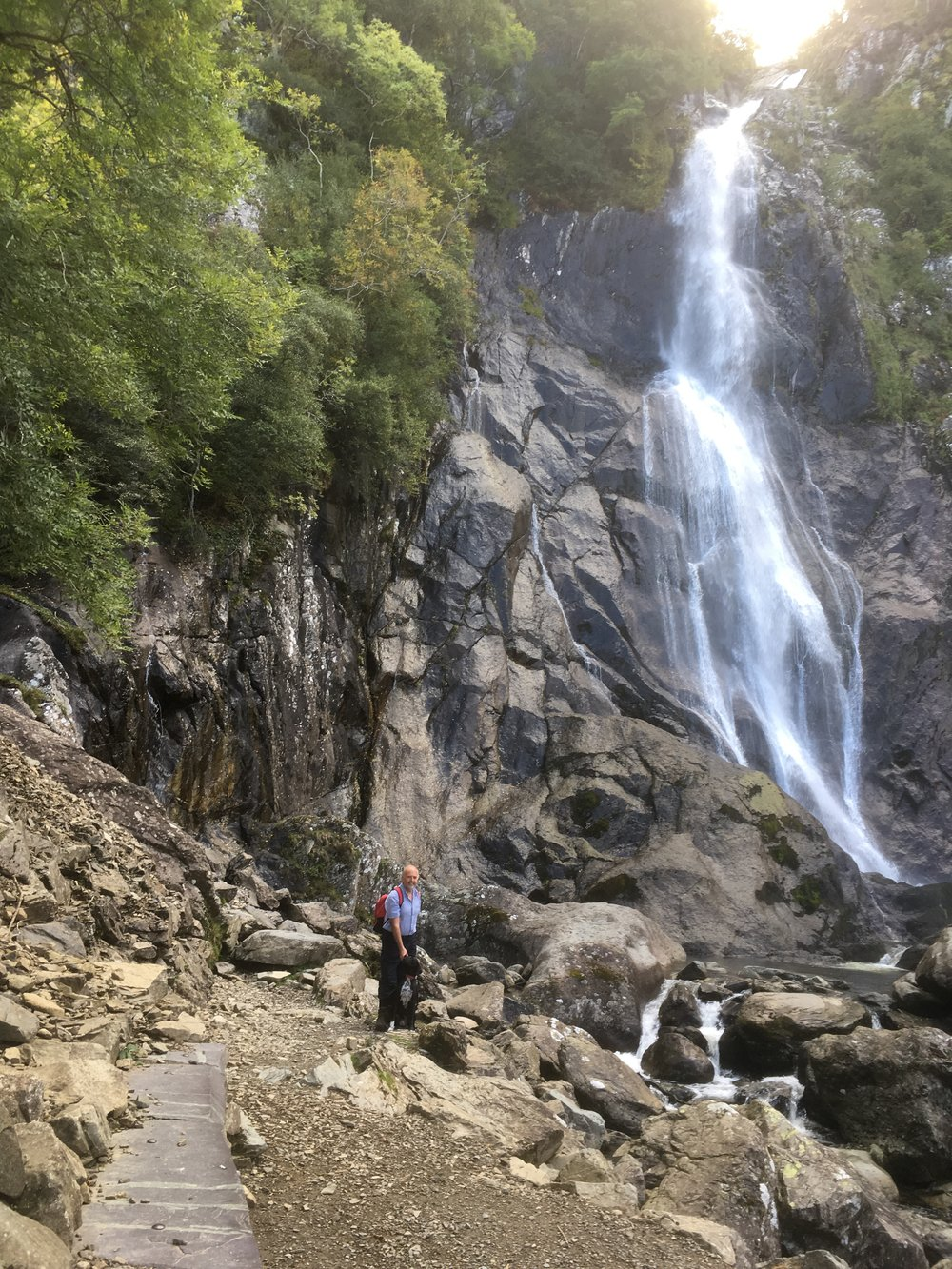 Beauty & Phil Jones 1000 miles complete 2018%2c Aber Falls%2c Abergwyngregyn (1).JPG