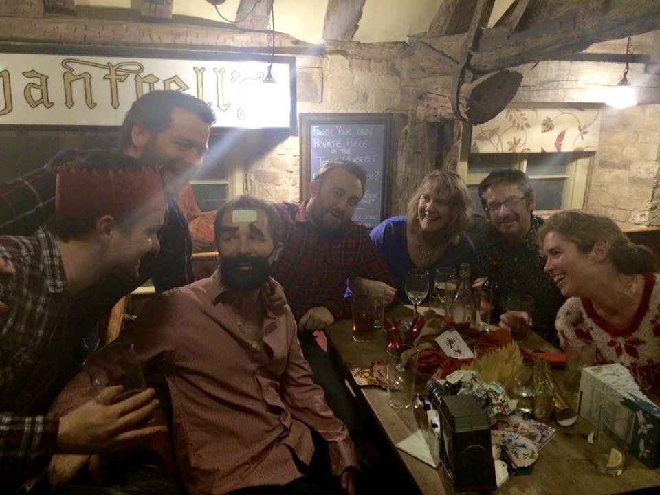 CW in the pub. Obvs.