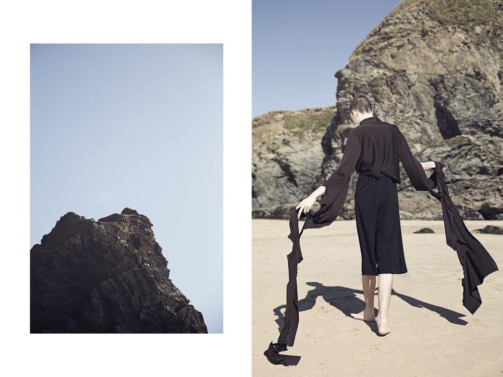 Adventure - Published exclusively for Kaltblut Magazine.Model: Reilee CousinsAssistants: Ceri Oxman & Jesse MachinClothes: Grace KiaPhotography & Styling: Nicholas Kristiansen