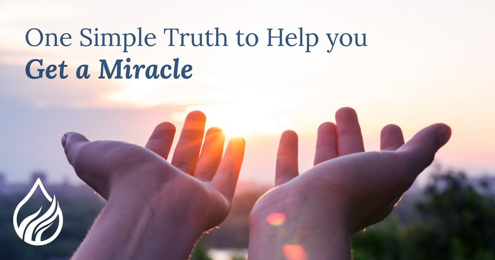How To Access A Miracle In Your Life