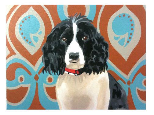 """""""Hudson"""", acrylic on canvas, 14"""" x 11"""""""