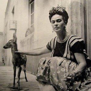 Frida Kahlo and Deer
