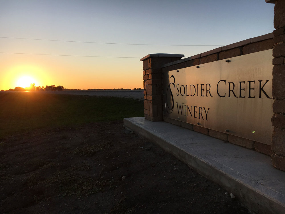 soldier creek Winery, ft. dodge