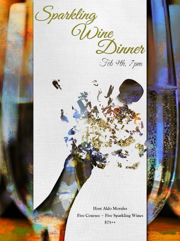 Sparkling Wine Dinner at Napa on Providence