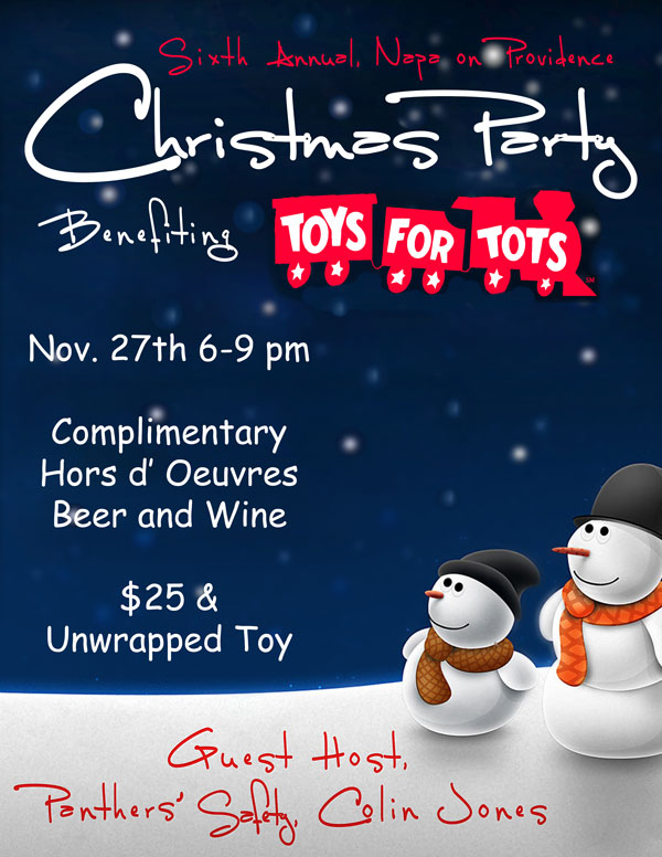 Toys for Tots Christmas Party