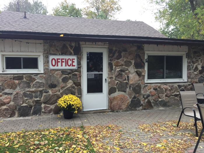 Bayfort Camp Office - we welcome you!
