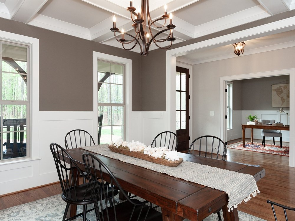 Wake-Forest-Vacant-Home-Staging-Dining