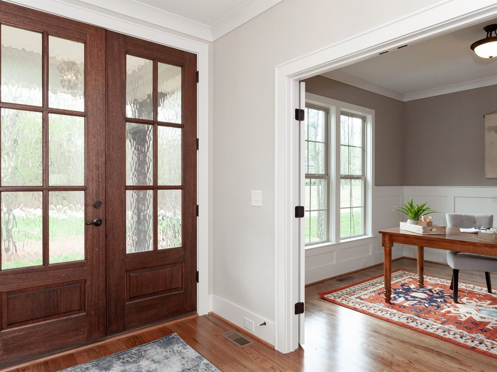 Wake-Forest-Home-Staging-New-Construction-Entry