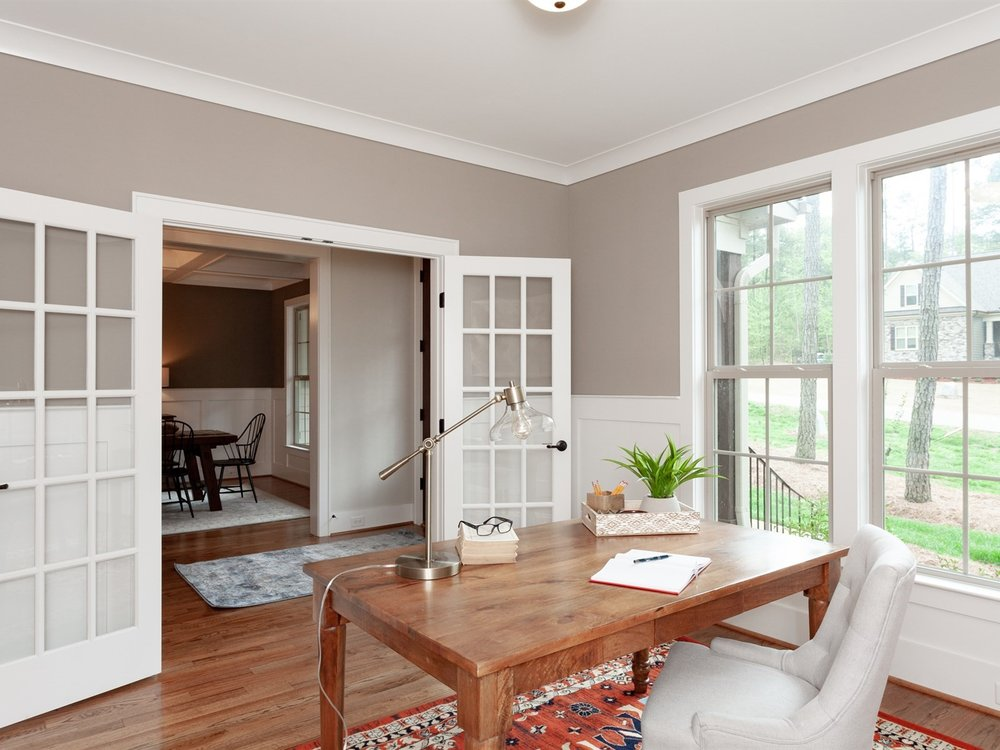 Wake-Forest-Home-Staging-New-Construction-Office