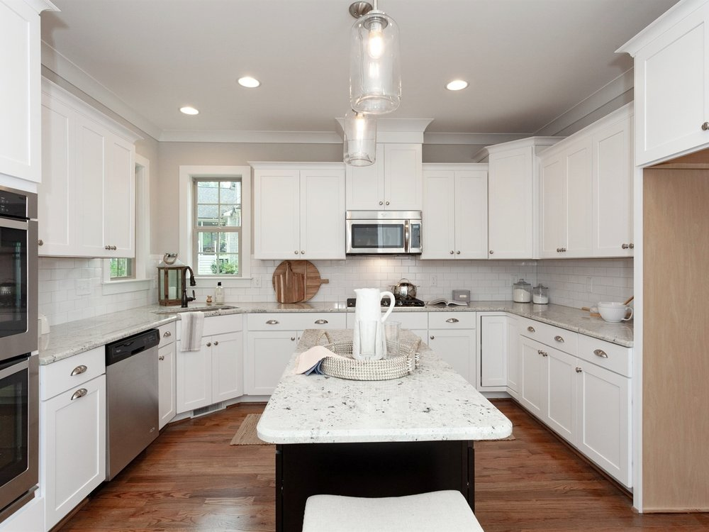 Wake-Forest-Home-Staging-New-Construction-Kitchen