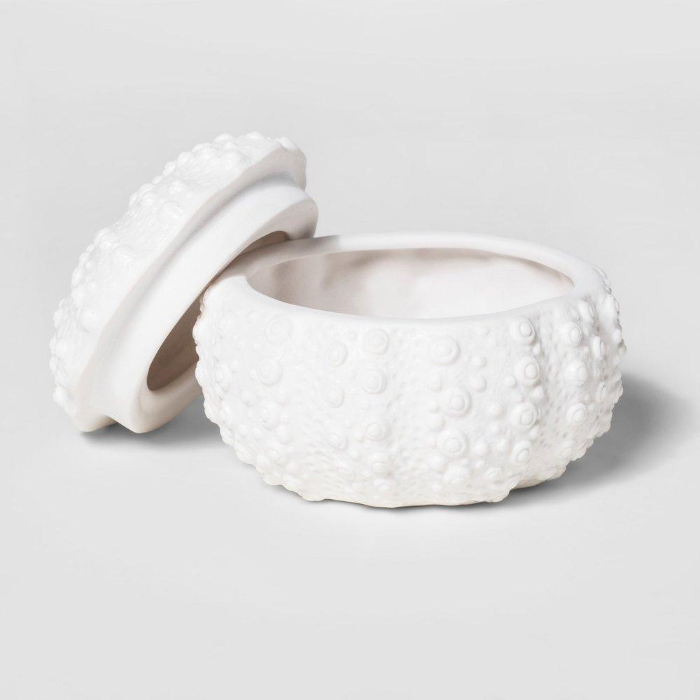 Ceramic Shell Box - $4.99