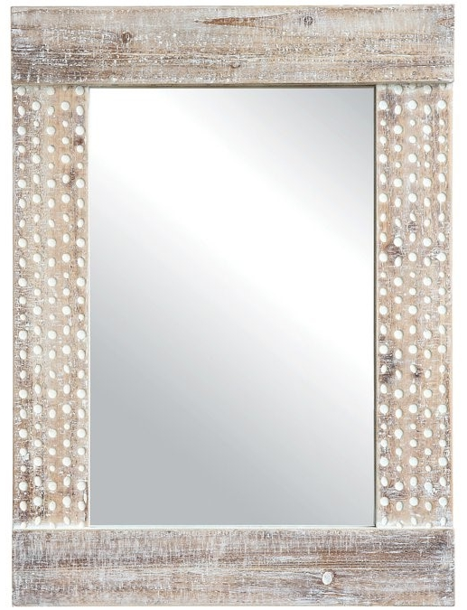 Islesford Wood Framed Accent Mirror - $199.99