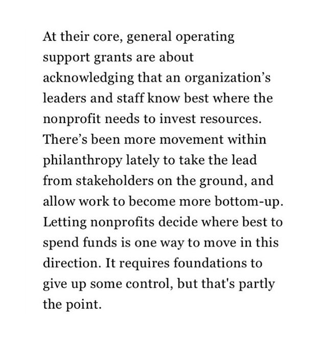 #InsidePhilanthropy features the Sobrato Family Foundation, which sees supporting general operating funds for art & cultural organizations as a crucial, 21st century trend. BAFF agrees! Go to InsidePhilanthropy.com to read the whole article!