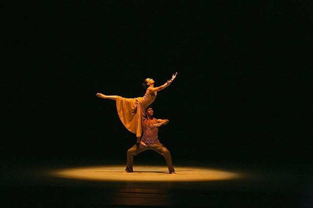 "Scene from ""Revelations,"" Alvin Ailey Dance Company #futuringblackart"