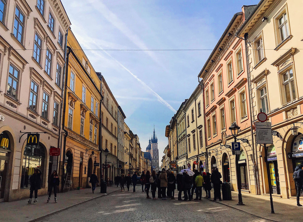 Pictured above: Krakow. Photo courtesy of Jez Sabaduquia