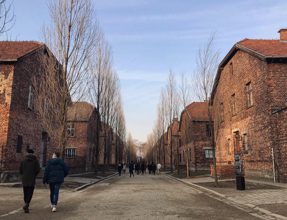 Pictured above: Auschwitz. Photo courtesy of Jez Sabaduquia