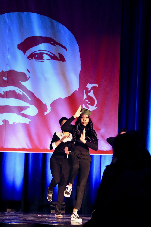 Black Reign Step Team performs. Photo by Saniya More.