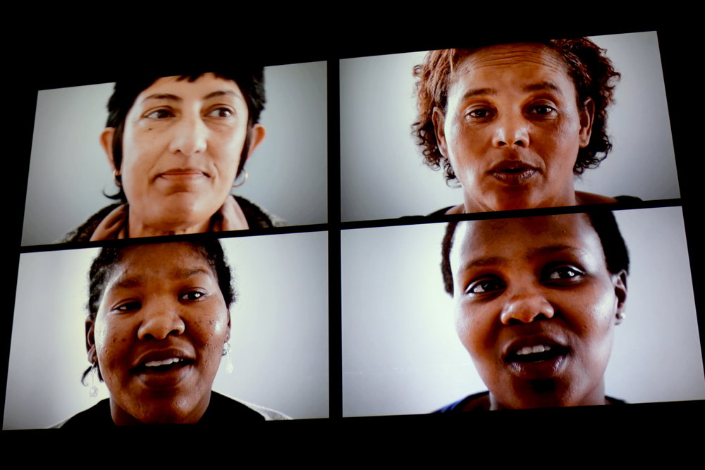 A still from a film by Johannesburg-based artist  Gabrielle Goliath . Photo by Jiaman (Maggie) Peng.