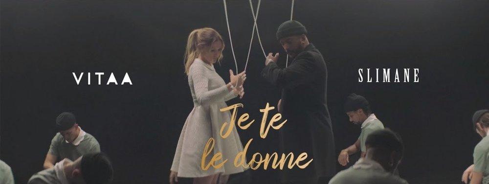 """Still from """"Je te le donne (en duo avec Slimane)"""" by VITAA"""