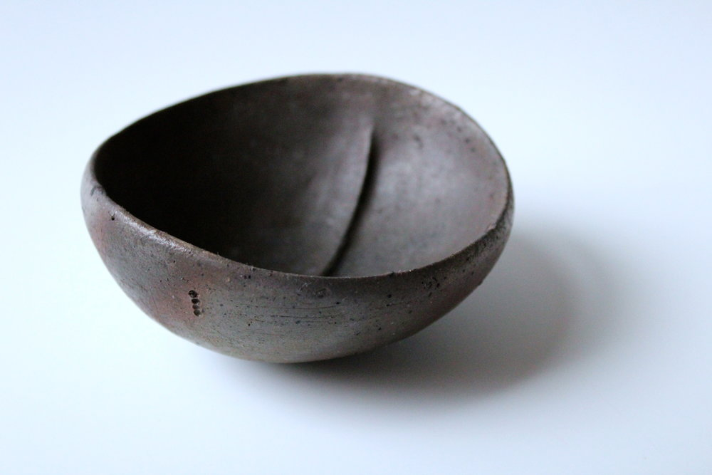 Woodfired Small Divided Bowl