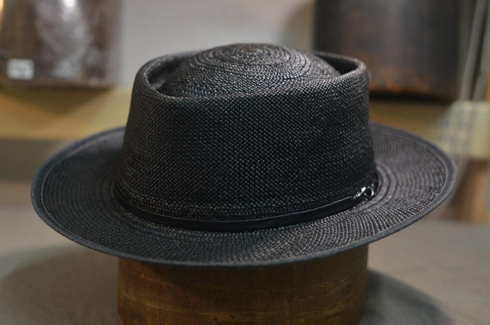 Custom hat by B.M. Franklin & Co. Photo: Meekaeel DeBradley