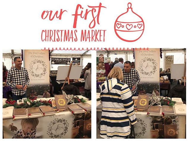 Belvoir Castle Christmas Market .... Nice to be out here and listening to all the great comments. #christmas #christmasgift #books #fatherchristmas #santaiscoming #letterstosanta #letterstofatherchristmas #uniquegifts #2018 #giftidea #gift