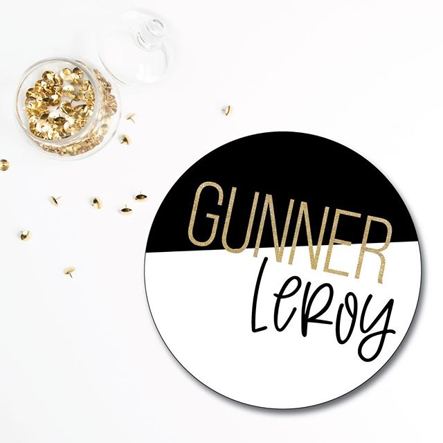 Last week we shared some nursery inspo that will be headed over to the @andisinteriorschelsea website portfolio.  But in the meantime I'm playing around with all things Gunner to gear up for any last minute details in this guy's nursery.  The countdown is on folks!  #maternityleave #babygunner #firstimemom #workfromhome #momlife #nurserydecor #nurserysign #graphicdesign #lovewhatyoudo #dowhatyoulove #custom #contrast #keepitcustom #ebdesignstudio #chelsea #dexter #chelseami #puremichigan #smallbiz #mycreativebiz #makersgonnamake #creativelifehappylife #handsandhustle #buildyourbrand