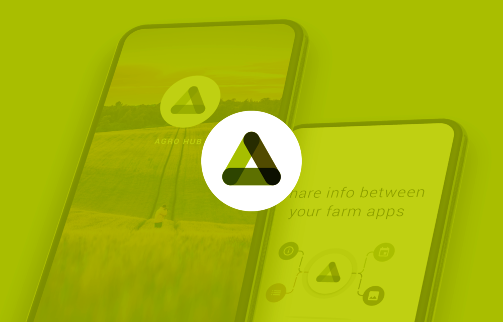Agro Hub  Sharing between agro apps -  case study coming soon