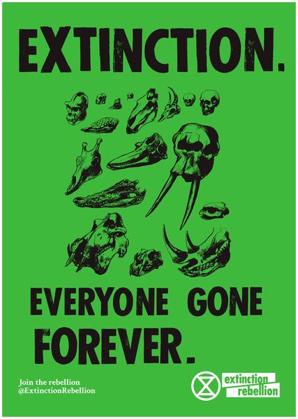 Photo courtesy of Extinction Rebellion