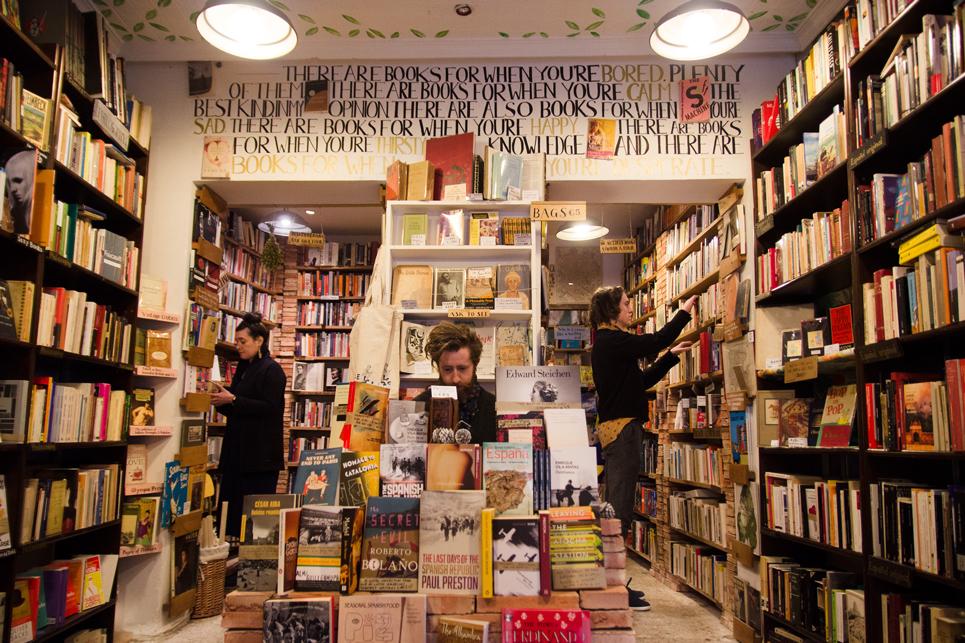 Inside Desperate Literature. Photo Andrea Dorantes Otero.