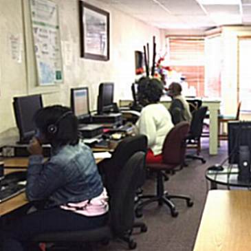 The SETT Program working on a survey of 10,000 Digital Inclusion Program Participants in 2012