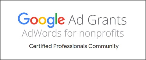 The Google Ad Grants team introduced the Certified Professionals Community including 9 agencies who've qualified as Ad Grants Certified Professionals.