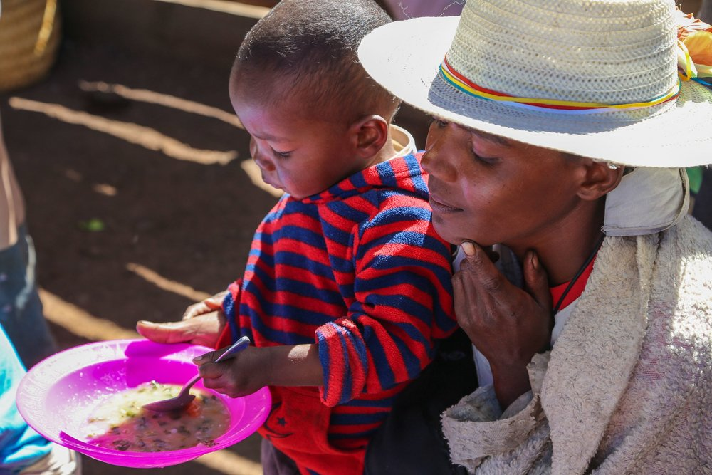 Microsoft's AI for Humanitarian Action targets four areas including the needs of children.