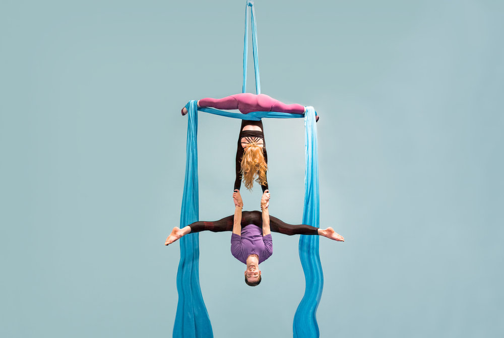 Aerial and Acrobatic Programming! - sign up today