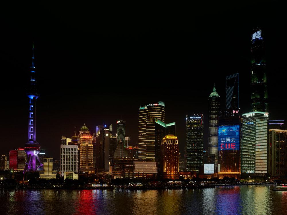 Shanghai Skyline 2018