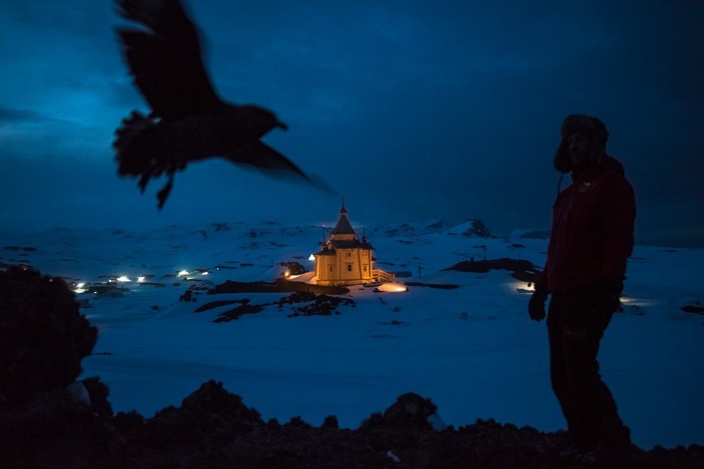 On a glacier-filled island with fjords and elephant seals, Russia has built Antarctica's first Orthodox church on a hill overlooking its research base, transporting the logs all the way from Siberia. Less than an hour away by snowmobile, Chinese laborers have updated the Great Wall Station, a linchpin in China's plan to operate five bases on Antarctica. Not to be outdone, India's futuristic new Bharathi base, built on stilts using 134 interlocking shipping containers, resembles a spaceship. Turkey and Iran have announced plans to build bases, too.  More than a century has passed since explorers  raced to plant their flags at the bottom of the world, and for decades to come this continent is supposed to be protected as a scientific preserve, shielded from intrusions like military activities and mining. But an array of countries are rushing to assert greater influence here, with an eye not just toward the day those protective treaties expire, but also for the strategic and commercial opportunities that exist right now.  Read more at the  New York Times .