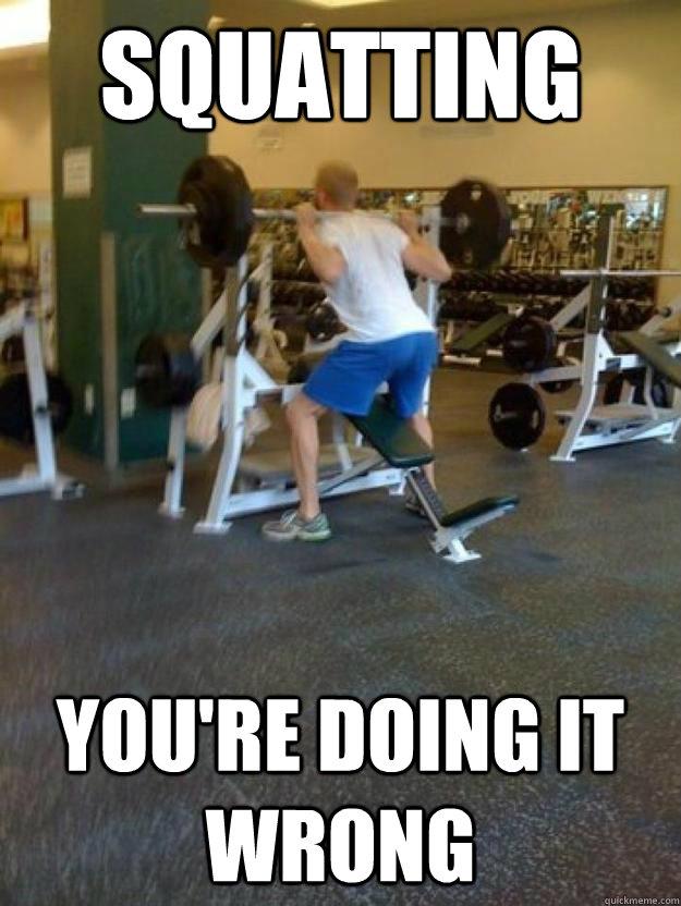 Squat Meme