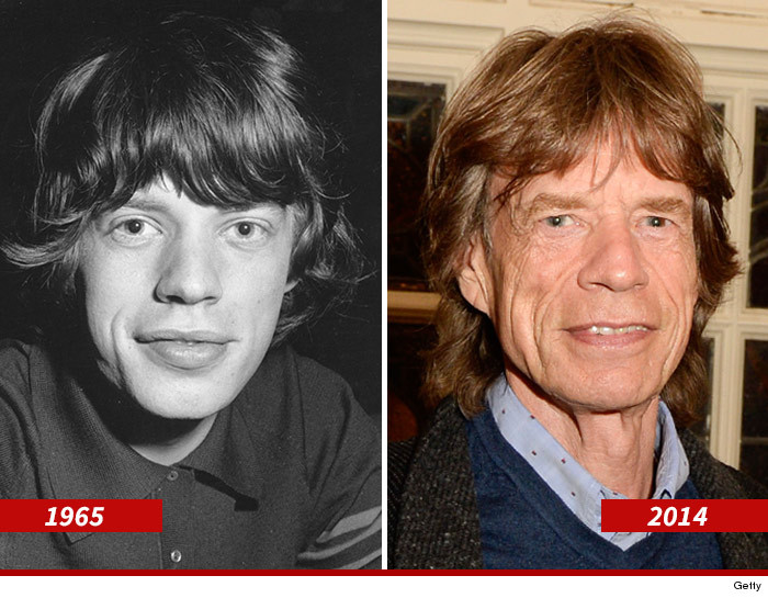 mick before and after