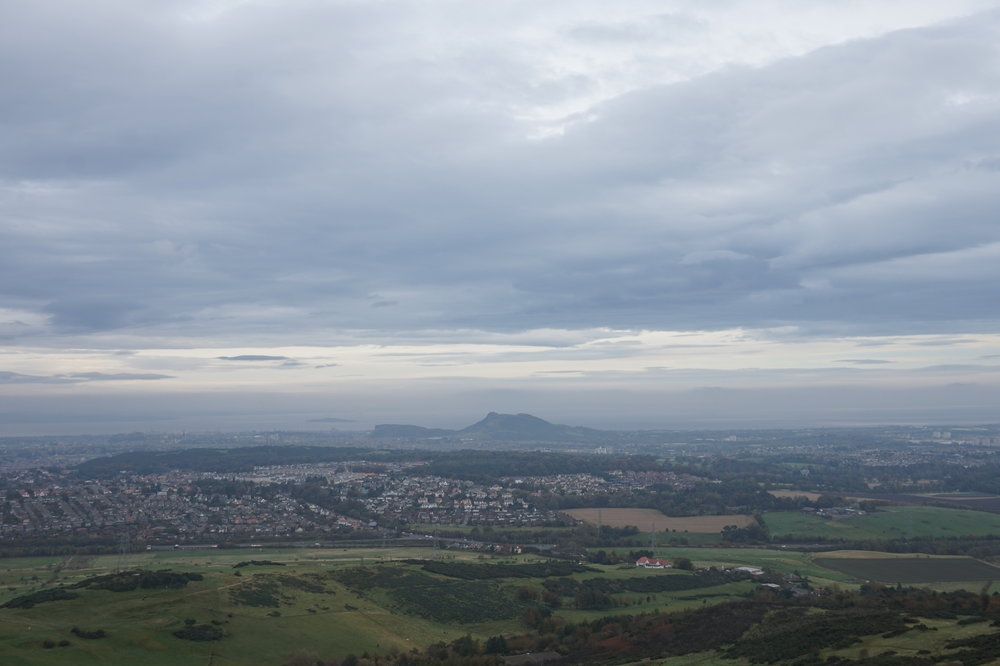 ARTHUR'S SEAT, FROM THE PENTLANDS.
