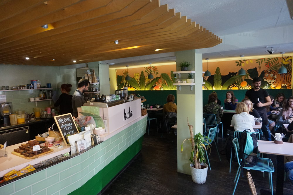 HULA: WHEN YOU'VE HAD YOUR FILL OF HAGGIS GET YOUR VEGGIE FIX HERE.